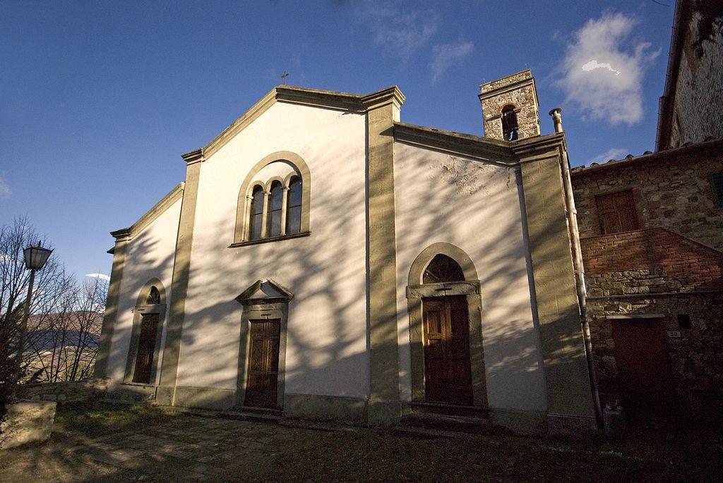 chiesa di santo stefano montefioralle