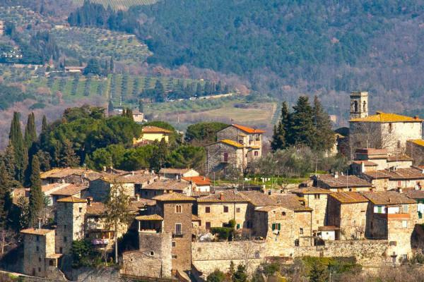 il borgo di montefioralle1
