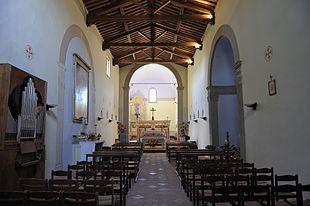 oratorio di sant'eufrosimo interno